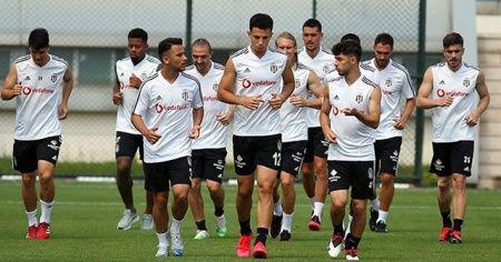 Beşiktaş'ta Kasımpaşa maçı hazırlıkları başladı