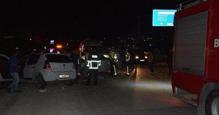 Bilecik'te meydana gelen trafik kazasında 6 kişi yaralandı