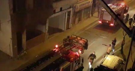 Bir ayda ikinci kez yanan binada kundaklama şüphesi