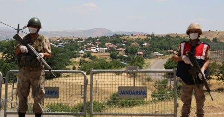 Bir köyde karantina 14 gün daha uzatıldı