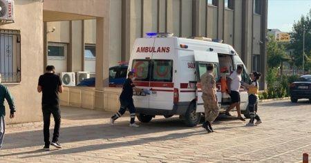 Boğulma tehlikesi geçiren genç hastaneye kaldırıldı