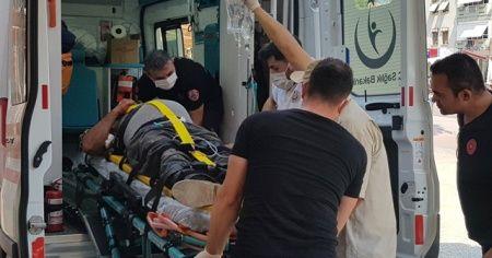 Çatıdan düşen marangoz ağır yaralandı