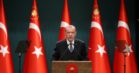 Cumhurbaşkanı Erdoğan: Salgının zirve dönemini geride bıraktık
