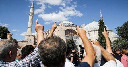 Danıştay 10. Dairesinin 'Ayasofya' kararı sevinçle karşılandı