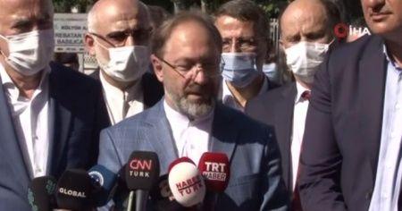 Diyanet İşleri Başkanı Erbaş'tan Ayasofya açıklaması: İki imam dört müezzin olacak