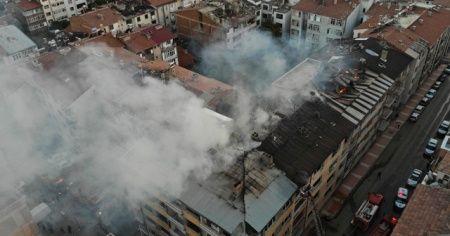 Elazığ'daki yangın söndürüldü