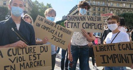 Fransa'da yeni İçişleri Bakanı ve Adalet Bakanı protesto edildi