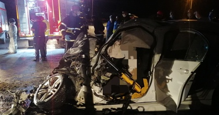 Gebze'de feci kaza: 2 ölü