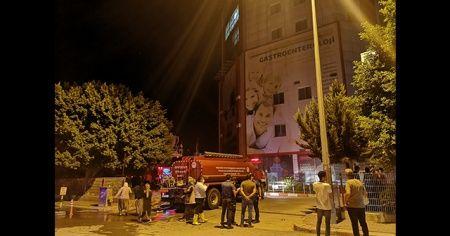 Hastanede çıkan yangın korkuttu