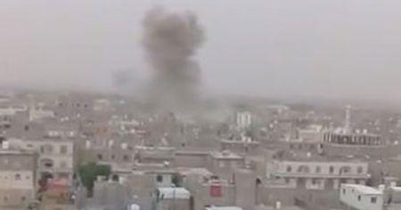 Husilerden yerleşim yerine balistik füze saldırısı