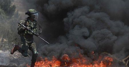 İsrail askerleri Batı Şeria'da 15 Filistinliyi yaraladı