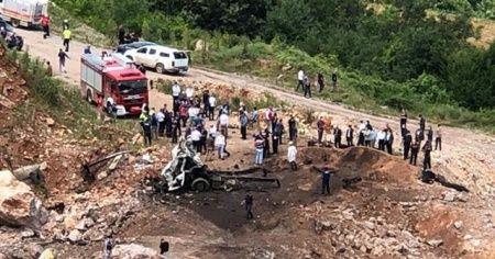 Jandarma Genel Komutanlığı'ndan Sakarya'daki patlama hakkında açıklama