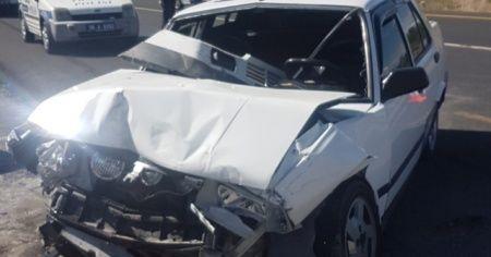Kayseri'de otomobille tır çarpıştı: 7 yaralı