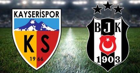 Kayserispor, sahasında Beşiktaş'ı 3-1 mağlup etti