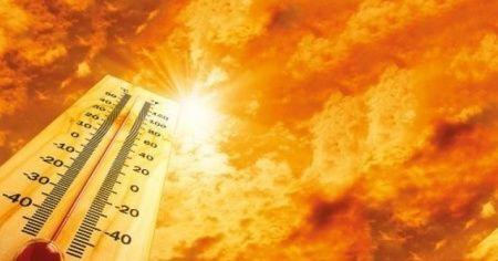 Kemaliye'de hava sıcaklığı 39 dereceyi buldu