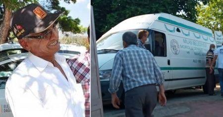 Kıbrıs Gazisi silahla vurulmuş halde ölü  bulundu