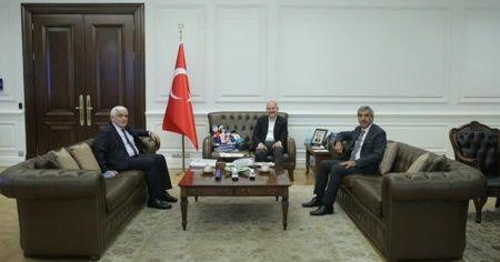 Kilis Milletvekilleri Bakan Soylu ile görüştü