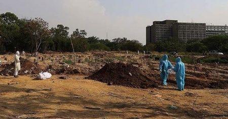 Kovid-19 nedeniyle Brezilya'da 631,Hindistan'da 500 kişi daha hayatını kaybetti