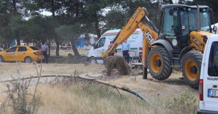 Kuzen cinayetinde su kuyusunda kazı çalışması başlatıldı