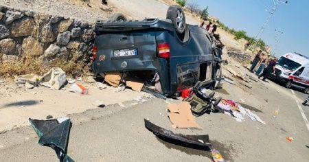 Malatya'da feci kaza: 1 ölü, 4 yaralı