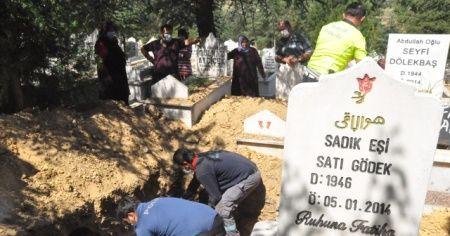 Patlamada hayatını kaybeden Kor'un cenazesi defnedildi