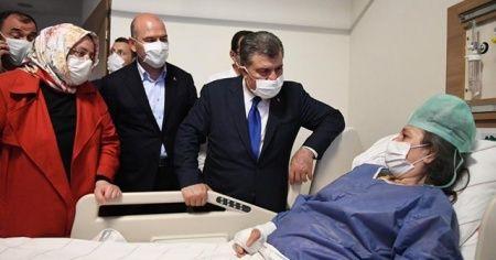 Sağlık Bakanı Koca: Hastaneye kaldırılan 114 kişiden 92'si taburcu oldu