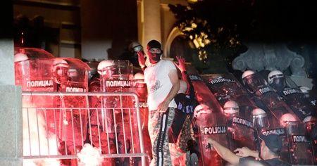 Sırbistan'daki protestolar devam ediyor