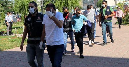 Sivas'ta 'renkli reçete' operasyonunda 7 şüpheli yakalandı