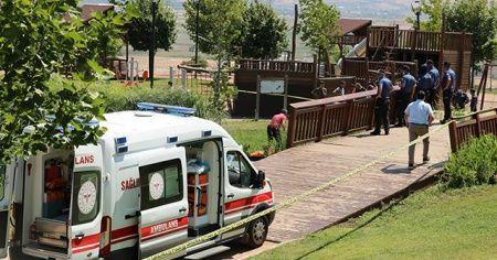 Süs havuzuna giren çocuk hayatını kaybetti