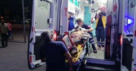 Ticari taksinin çarptığı genç hastanede hayatını kaybetti