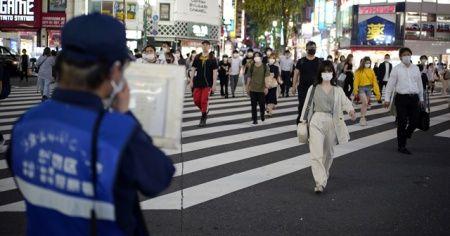Tokyo bugün de vaka rekoru kırdı