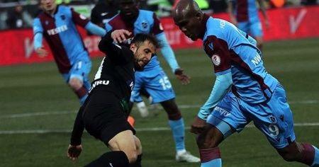 Trabzonspor ile Denizlispor 40. randevuda
