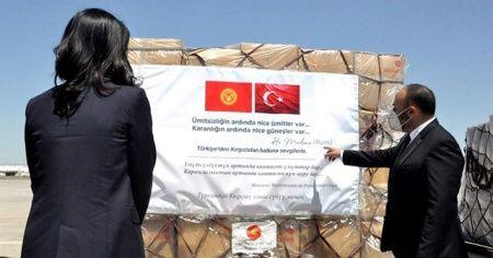 Türkiye'den Kırgızistan'a tıbbi yardım desteği