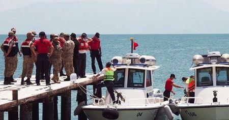 Van'daki tekne faciasında ölü sayısı 11'e yükseldi