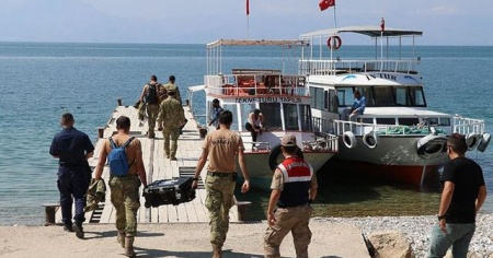Van'daki tekne faciasında ölü sayısı 21'e yükseldi