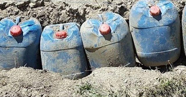 """""""Yıldırım-2 Cilo Operasyonu""""nda 640 litre asetik anhidrit ele geçirildi"""