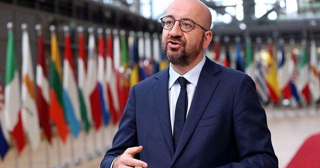 AB Konseyi Başkanı Michel'den Beyrut'ta Lübnanlılara dayanışma mesajı