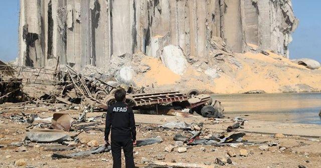 AFAD Beyrut Limanı'nda arama kurtarma çalışmalarına başladı