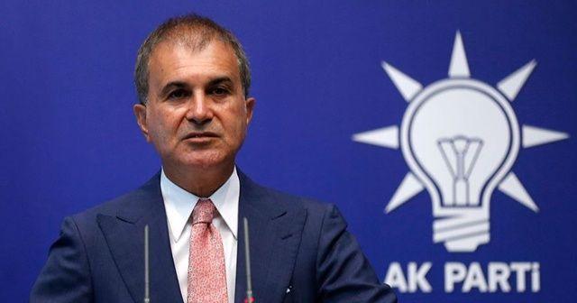 AK Parti Sözcüsü Çelik: AB, Yunan tiyatrosuna izin vermemeli