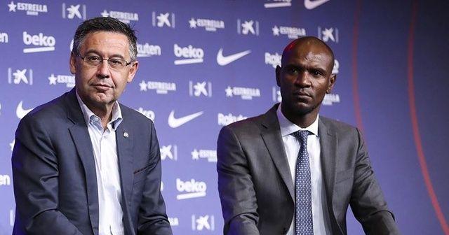 Barcelona'da sportif direktör Eric Abidal'in görevine son verildi