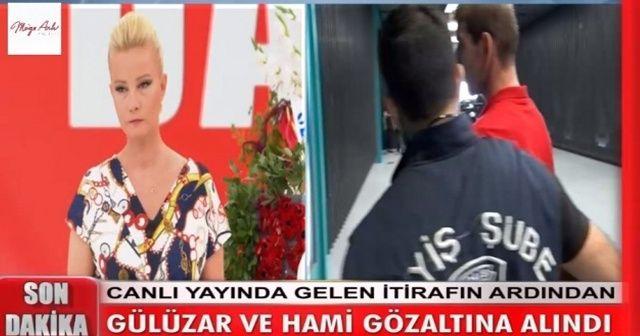 Canlı yayında şok itiraf sonrası gözaltı