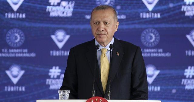 Cumhurbaşkanı Erdoğan: Büyük ve güçlü Türkiye hedefimize kararlılıkla yürüyoruz