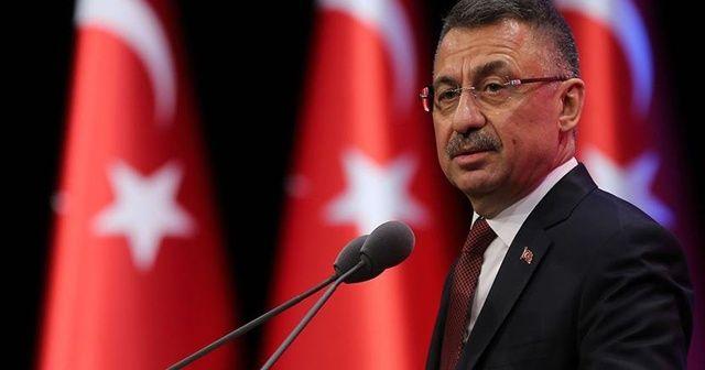 Cumhurbaşkanı Yardımcısı Oktay'dan Lübnan'a taziye mesajı