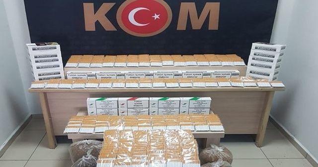 Denizli'de kaçakçılara yönelik operasyon: 5 gözaltı