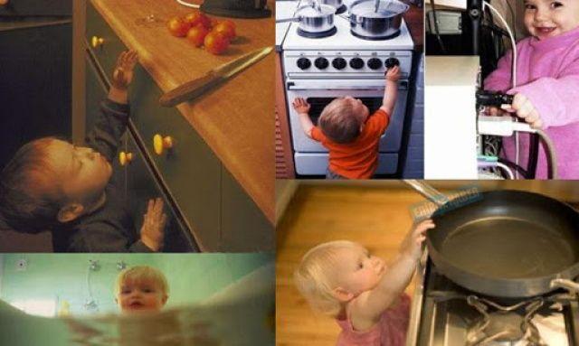 Evdeki Tehlikelere Karşı Alınması Gereken Önlemler
