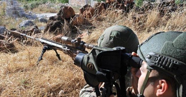 """MSB: Fırat Kalkanı bölgesinde 2 PKK/YPG'li terörist etkisiz hale getirildi"""""""