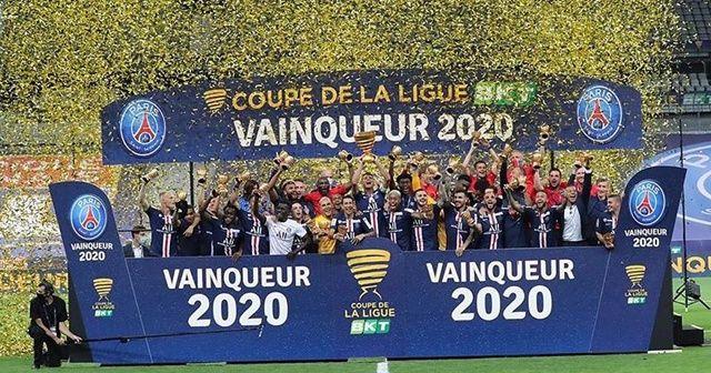 Fransa Lig Kupası'nı PSG kazandı