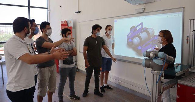 Gençlerden 'insansız su altı aracı' projesi