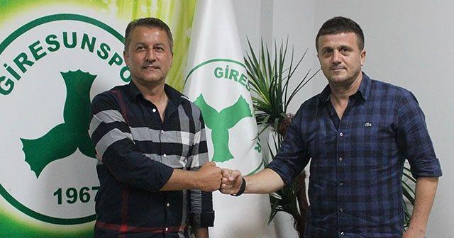 Giresunspor'da Hakan Keleş dönemi başladı