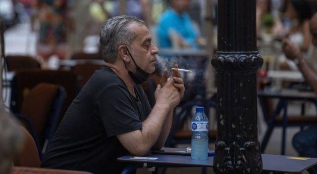 İspanya'da  sokakta sigara içmek yasak